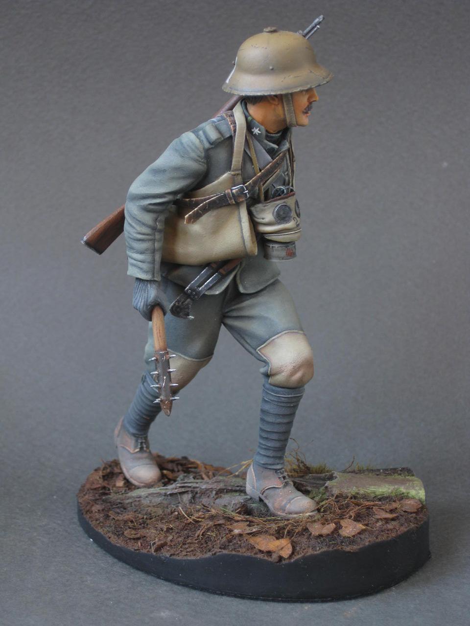 Figures: Austrian - Hungarian stormtrooper, 1917, photo #5