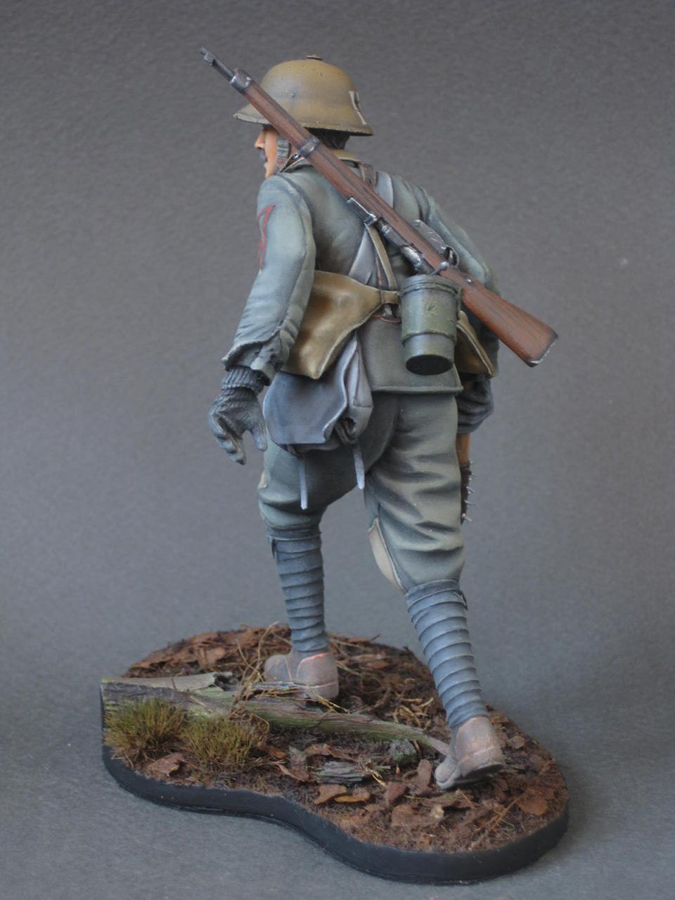 Figures: Austrian - Hungarian stormtrooper, 1917, photo #9