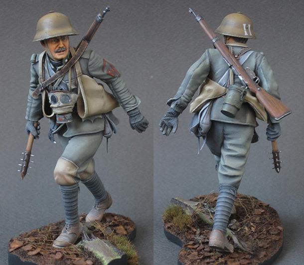 Figures: Austrian - Hungarian stormtrooper, 1917