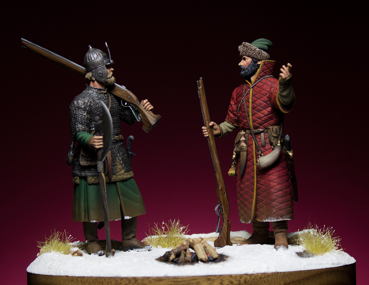 Figures: Russian musketeers, photo #1