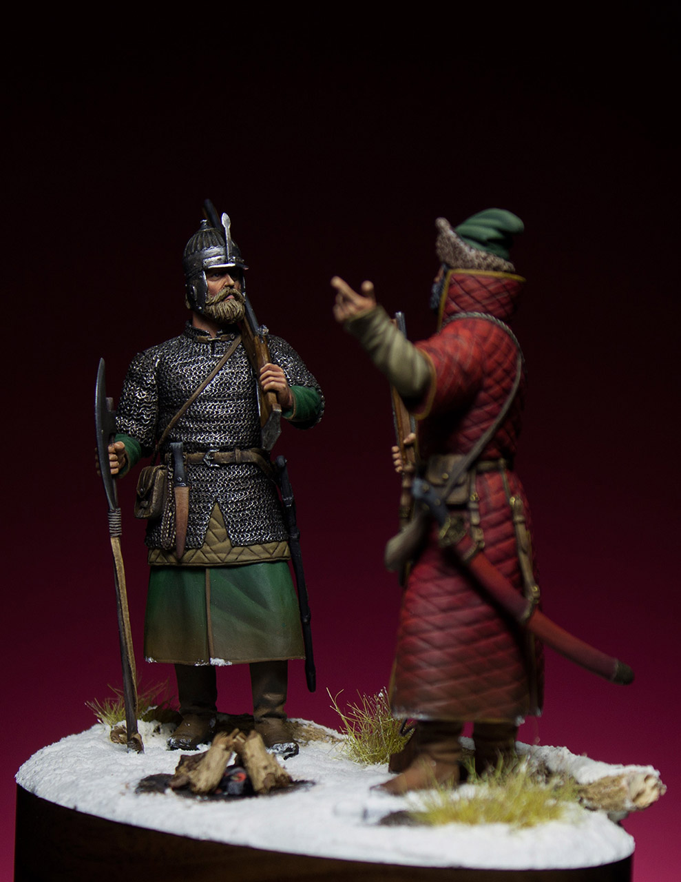 Figures: Russian musketeers, photo #2