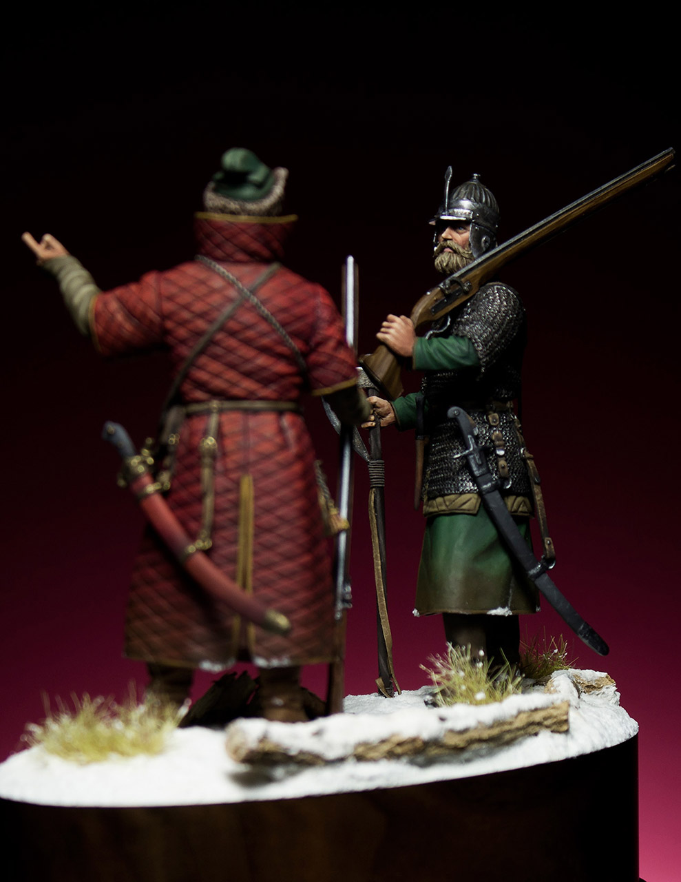 Figures: Russian musketeers, photo #3