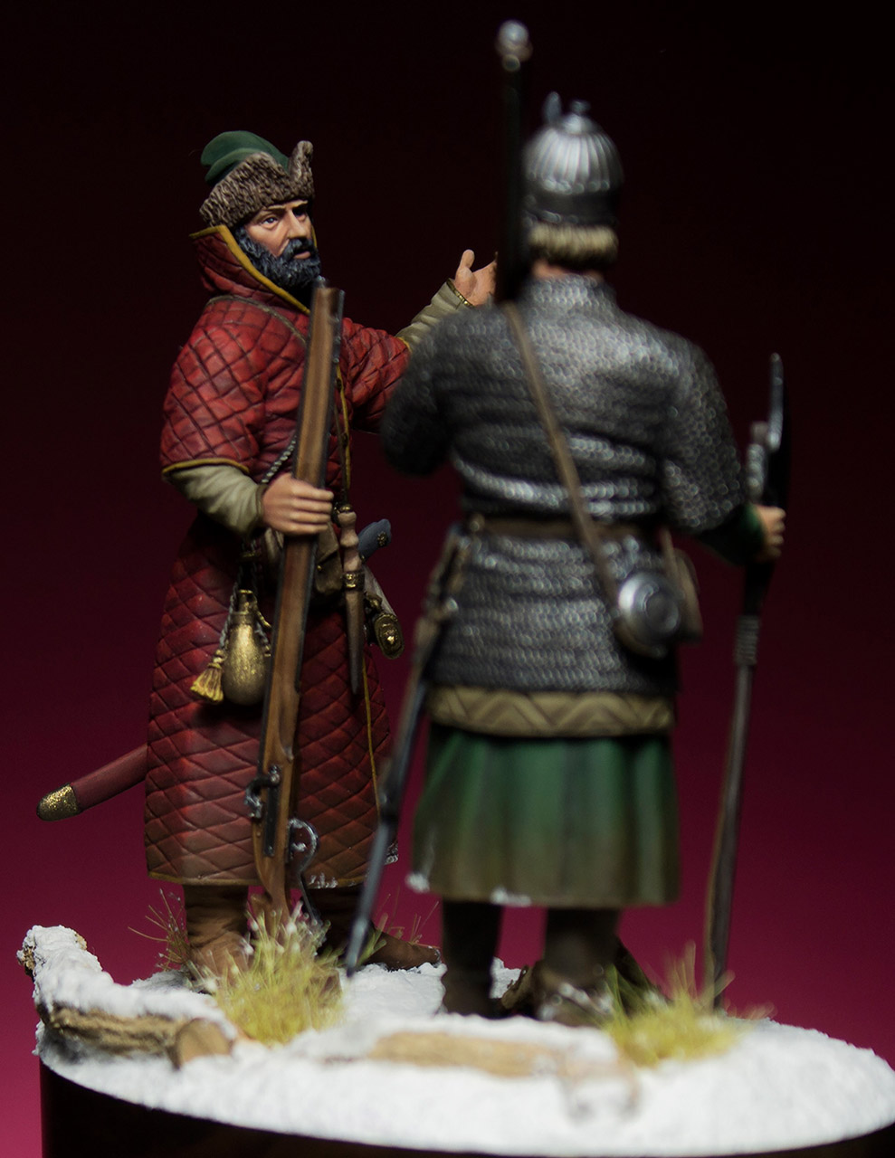 Figures: Russian musketeers, photo #4