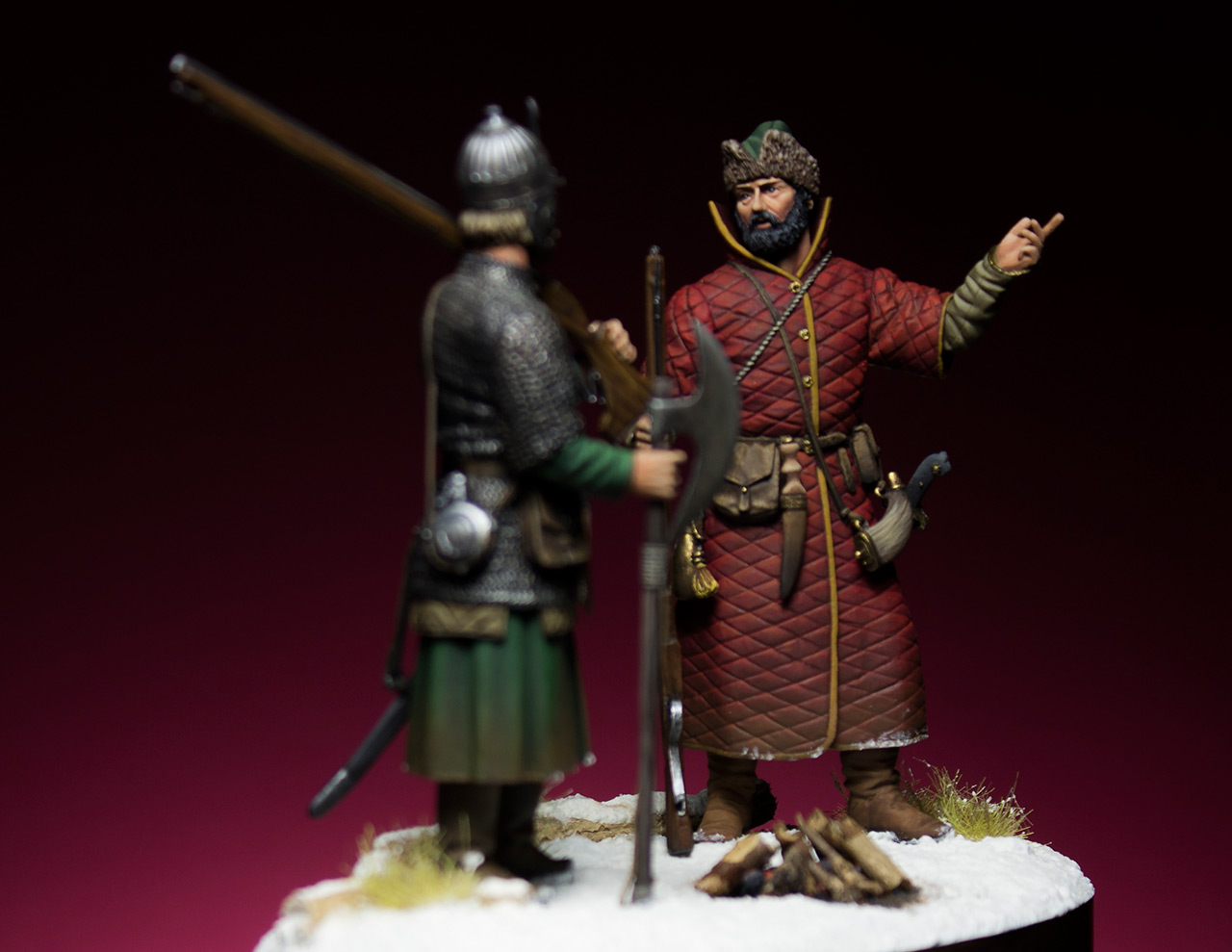 Figures: Russian musketeers, photo #5