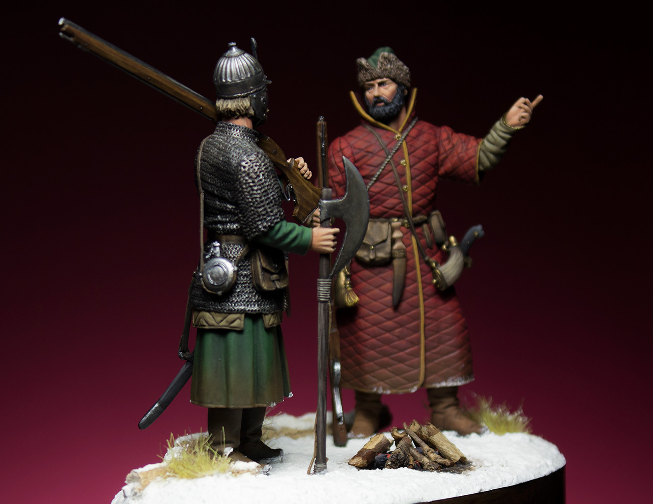 Figures: Russian musketeers, photo #6