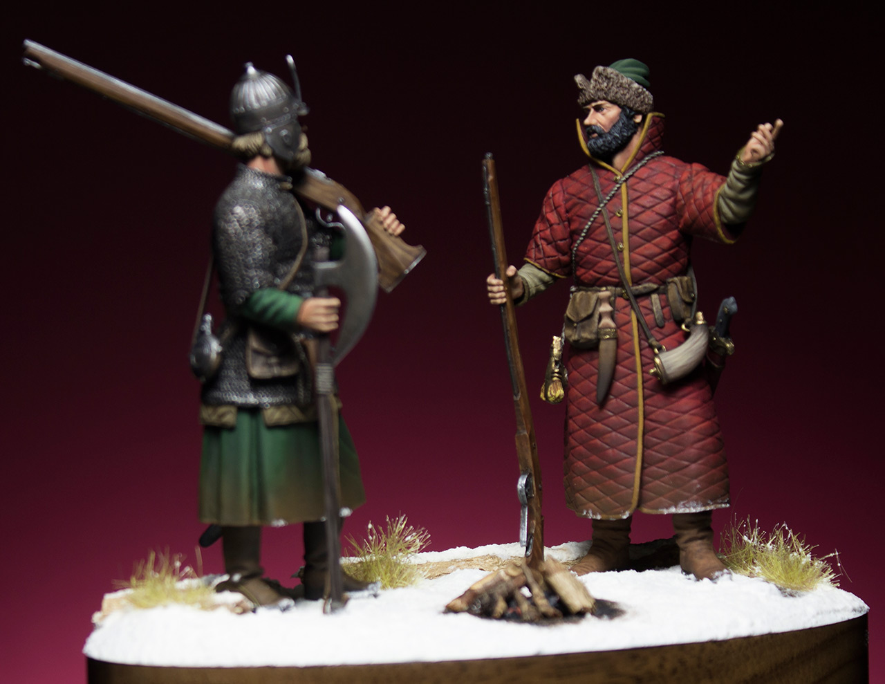 Figures: Russian musketeers, photo #7