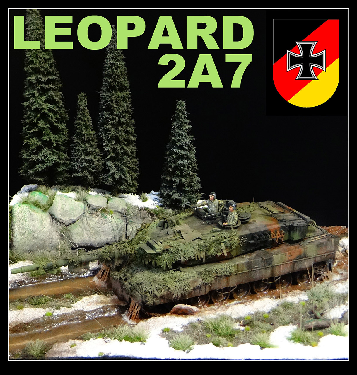 Dioramas and Vignettes: Leopard, photo #1