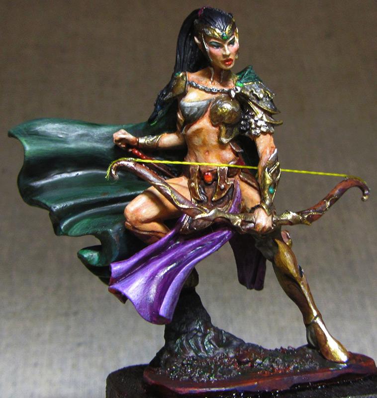 Miscellaneous: Elven girl, photo #2