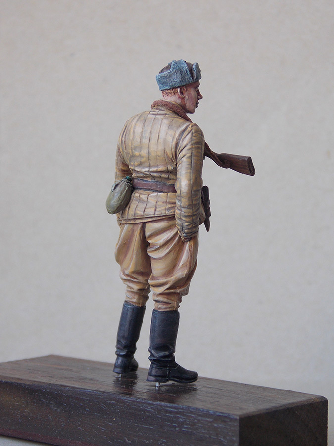Figures: Red Army soldier at rest, photo #13