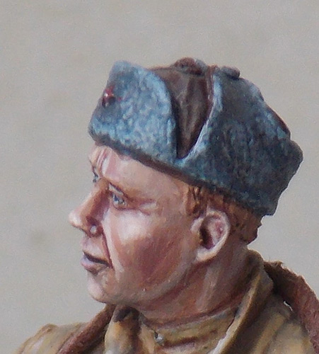 Figures: Red Army soldier at rest, photo #16