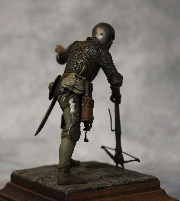 Figures: European crossbowman, XV cent., photo #5