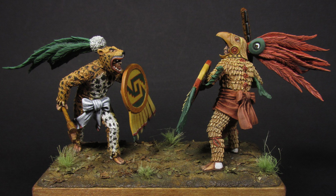 Dioramas and Vignettes: Ritual fight, photo #1