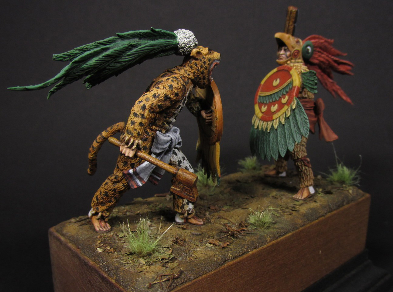 Dioramas and Vignettes: Ritual fight, photo #12