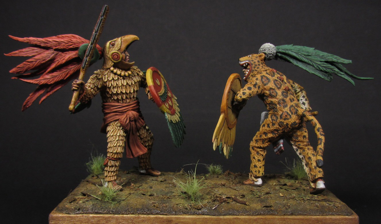 Dioramas and Vignettes: Ritual fight, photo #2