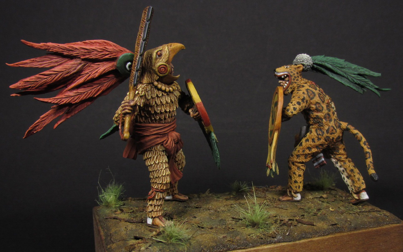 Dioramas and Vignettes: Ritual fight, photo #3