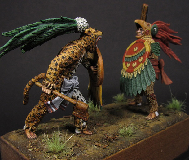 Dioramas and Vignettes: Ritual fight