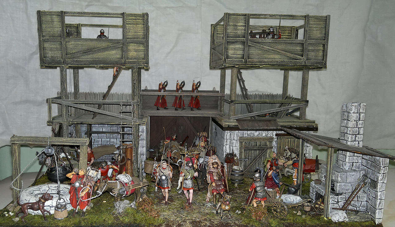 Dioramas and Vignettes: Arrival of replenishment to the frontier of Limes Germanicus, photo #1