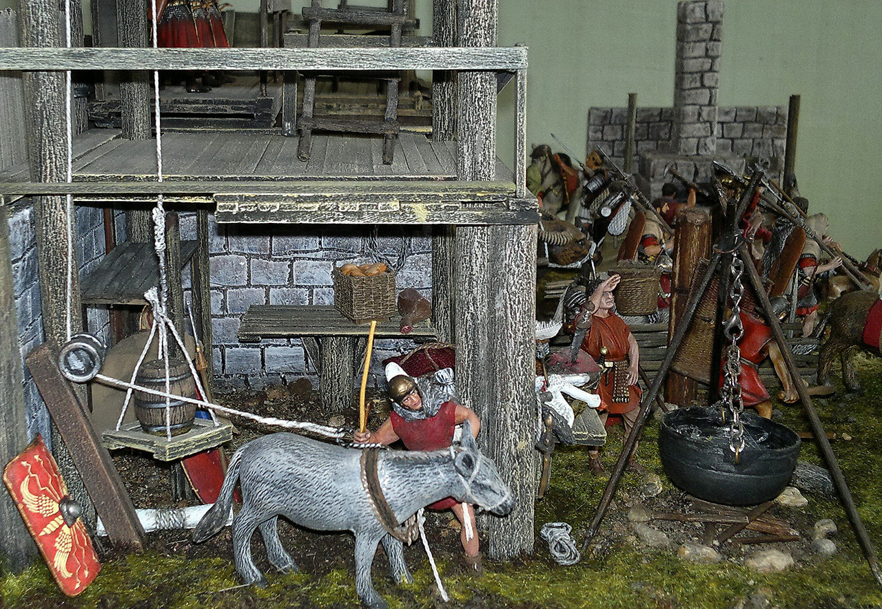 Dioramas and Vignettes: Arrival of replenishment to the frontier of Limes Germanicus, photo #10