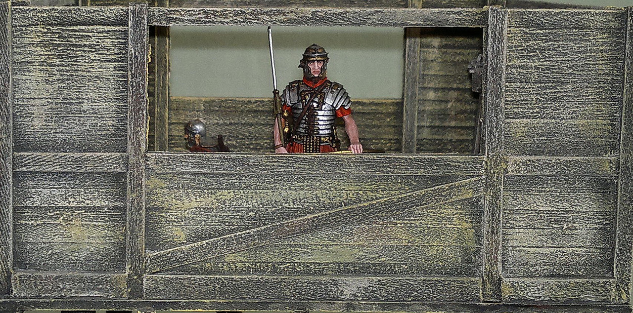 Dioramas and Vignettes: Arrival of replenishment to the frontier of Limes Germanicus, photo #11