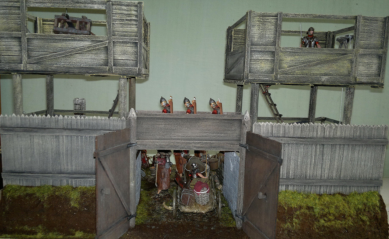 Dioramas and Vignettes: Arrival of replenishment to the frontier of Limes Germanicus, photo #12
