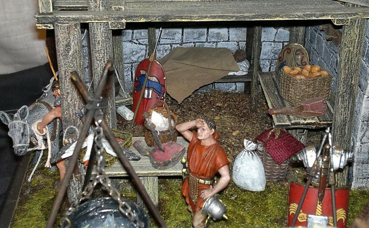 Dioramas and Vignettes: Arrival of replenishment to the frontier of Limes Germanicus, photo #15