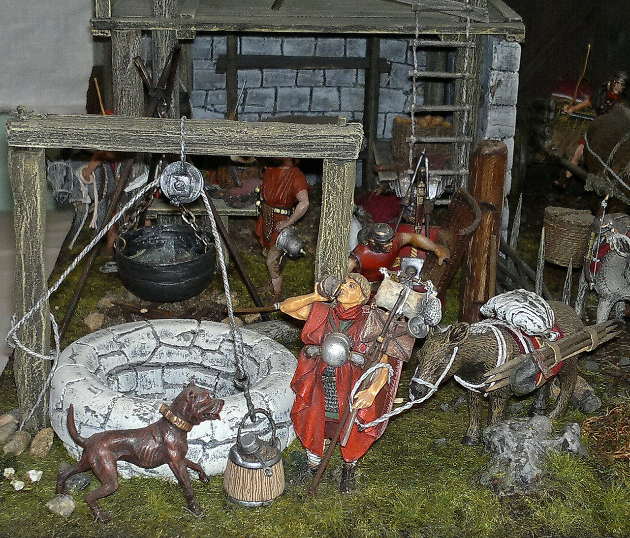 Dioramas and Vignettes: Arrival of replenishment to the frontier of Limes Germanicus, photo #3