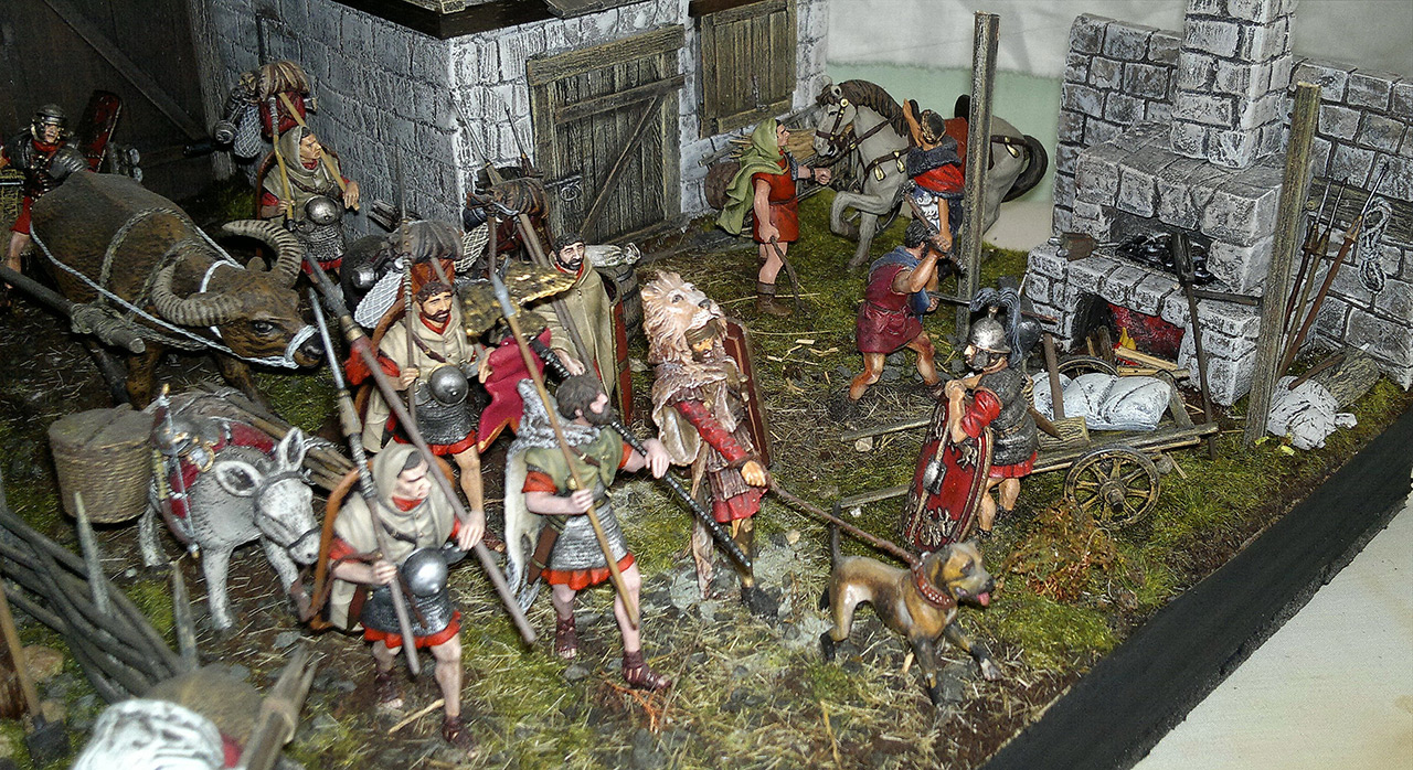 Dioramas and Vignettes: Arrival of replenishment to the frontier of Limes Germanicus, photo #6