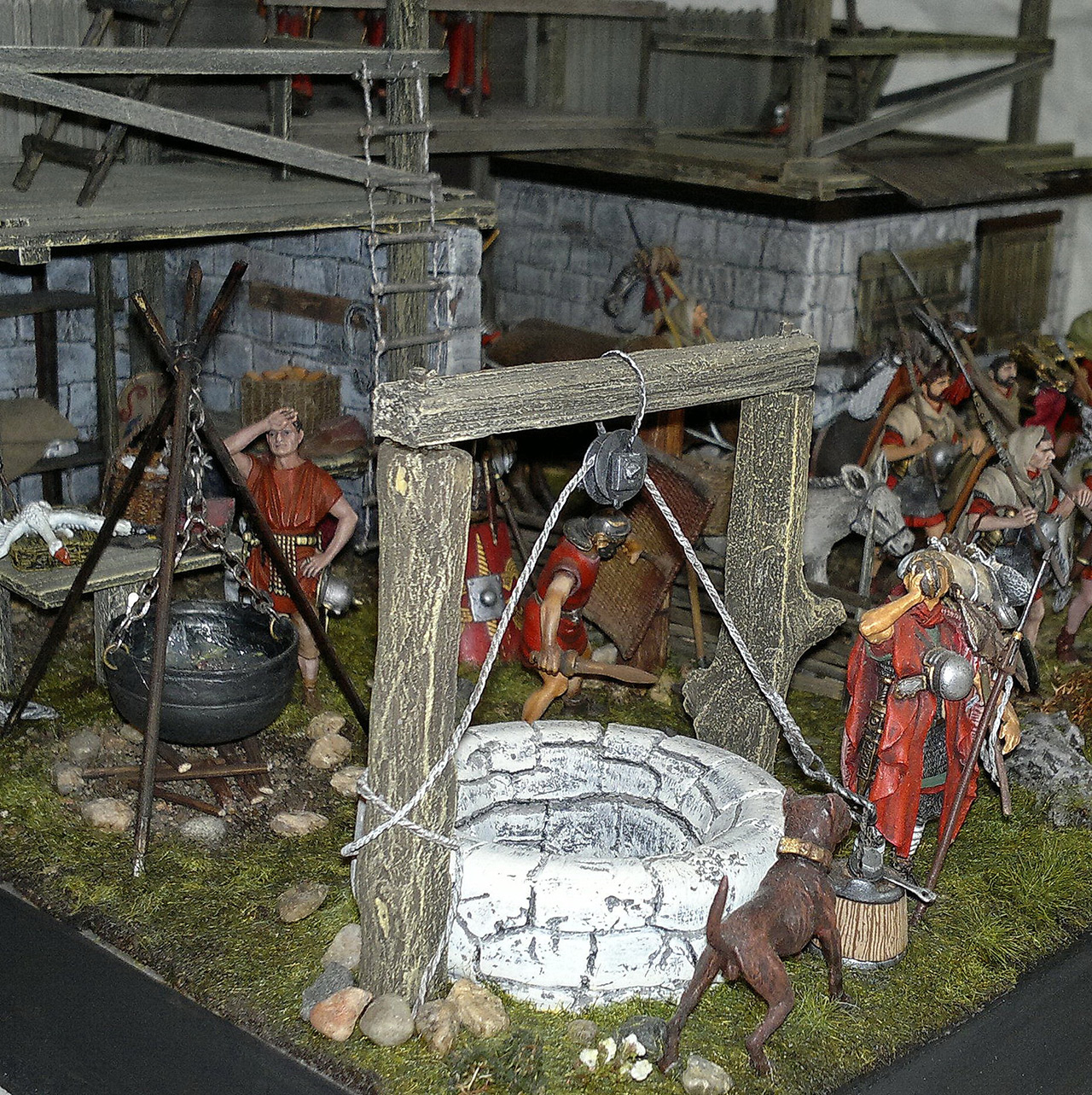 Dioramas and Vignettes: Arrival of replenishment to the frontier of Limes Germanicus, photo #7