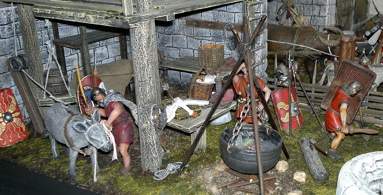 Dioramas and Vignettes: Arrival of replenishment to the frontier of Limes Germanicus, photo #8