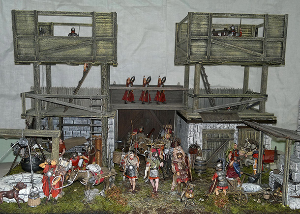 Dioramas and Vignettes: Arrival of replenishment to the frontier of Limes Germanicus