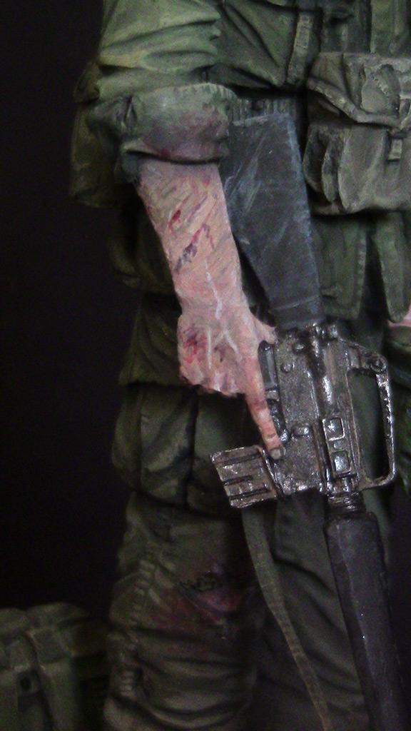 Figures: Trooper of 82nd airborne div., Vietnam, 1970, photo #12