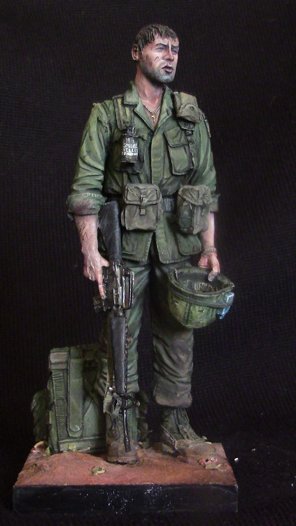 Figures: Trooper of 82nd airborne div., Vietnam, 1970, photo #2