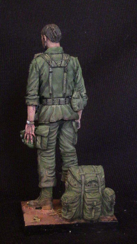 Figures: Trooper of 82nd airborne div., Vietnam, 1970, photo #4