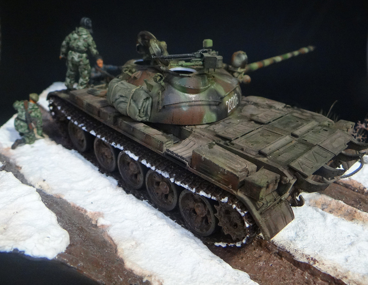Dioramas and Vignettes: T-55A, photo #4