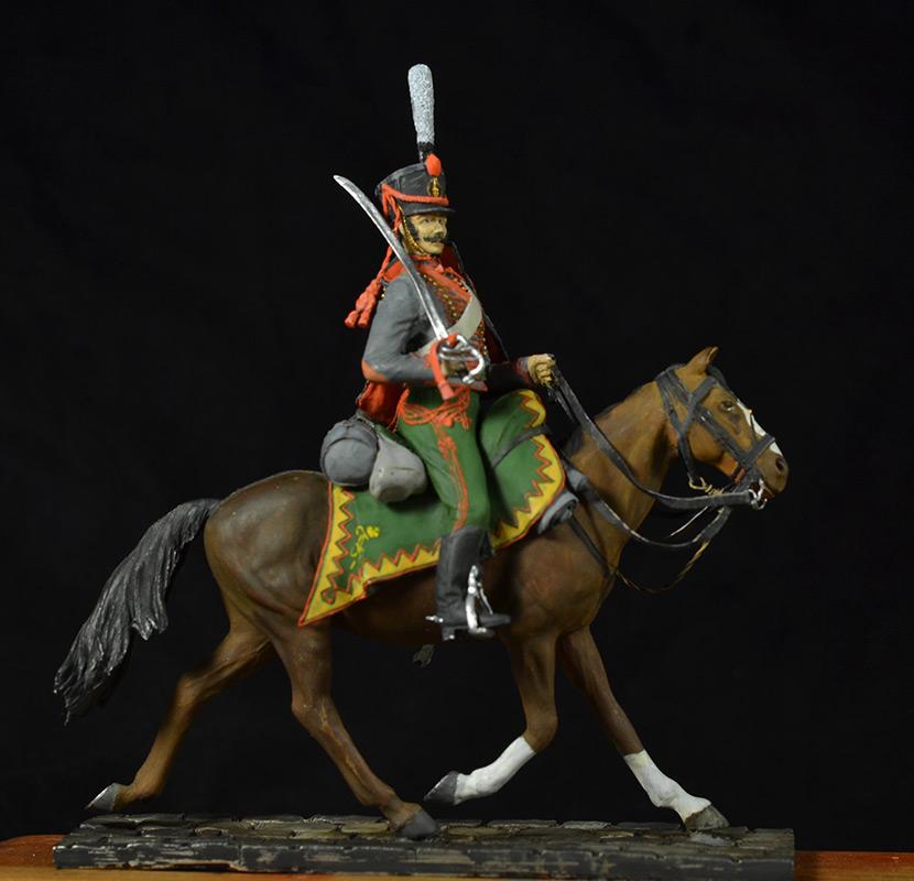 Figures: Hussar, Elisavetgrad regt., Russia, 1813, photo #10
