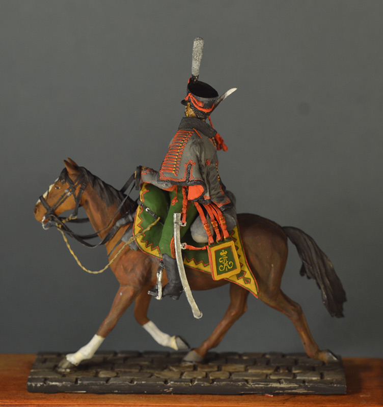 Figures: Hussar, Elisavetgrad regt., Russia, 1813, photo #12