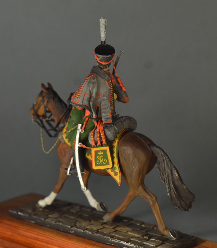 Figures: Hussar, Elisavetgrad regt., Russia, 1813, photo #13