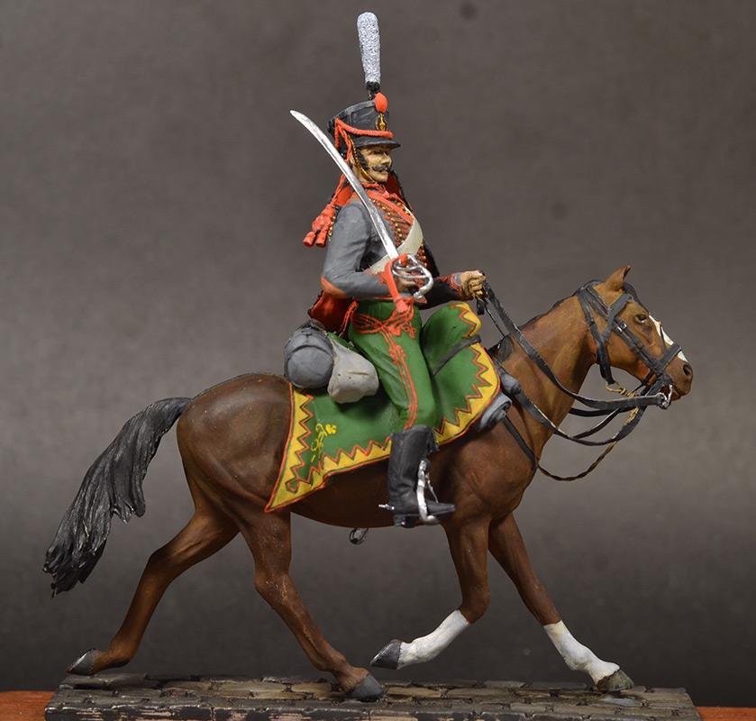 Figures: Hussar, Elisavetgrad regt., Russia, 1813, photo #2