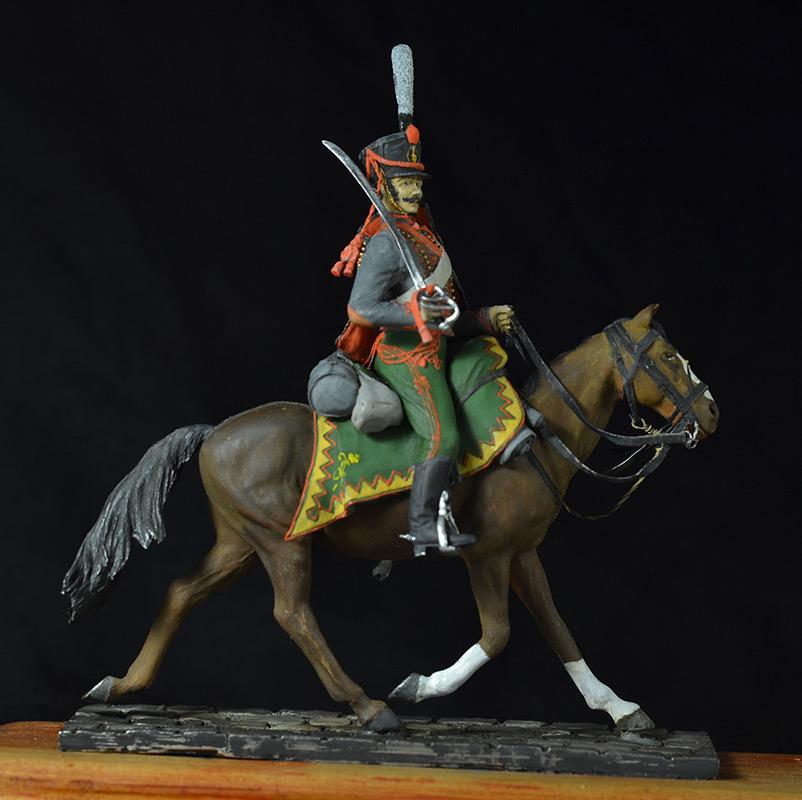 Figures: Hussar, Elisavetgrad regt., Russia, 1813, photo #5