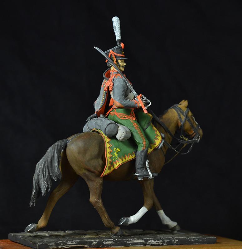 Figures: Hussar, Elisavetgrad regt., Russia, 1813, photo #6