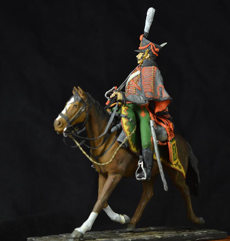 Figures: Hussar, Elisavetgrad regt., Russia, 1813, photo #7