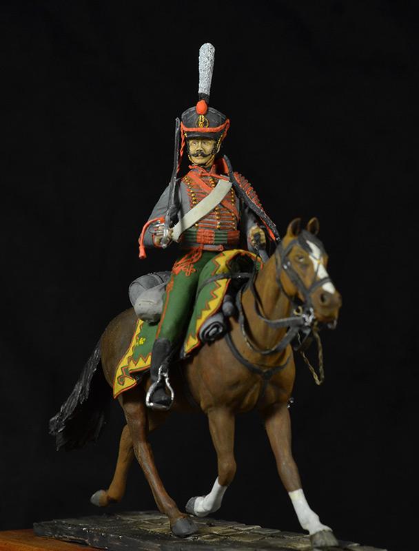 Figures: Hussar, Elisavetgrad regt., Russia, 1813, photo #9