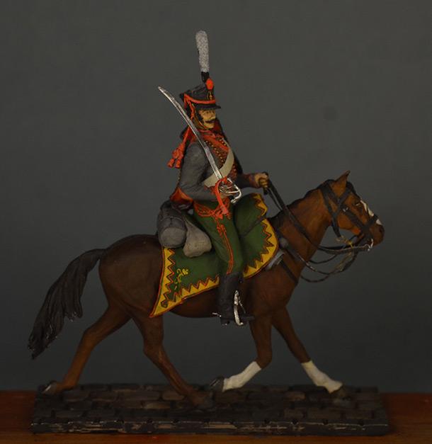 Figures: Hussar, Elisavetgrad regt., Russia, 1813