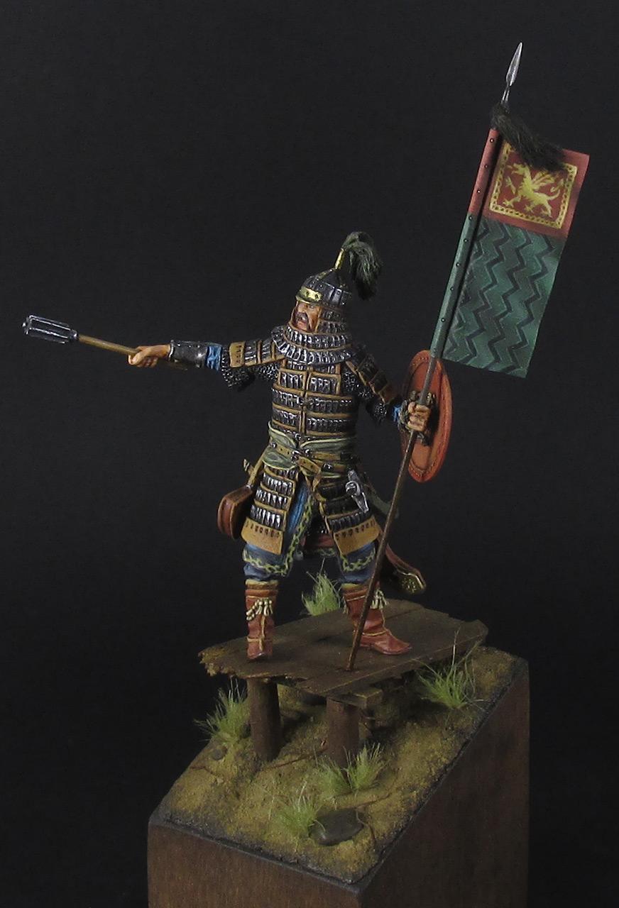 Figures: Mongol warrior, photo #11