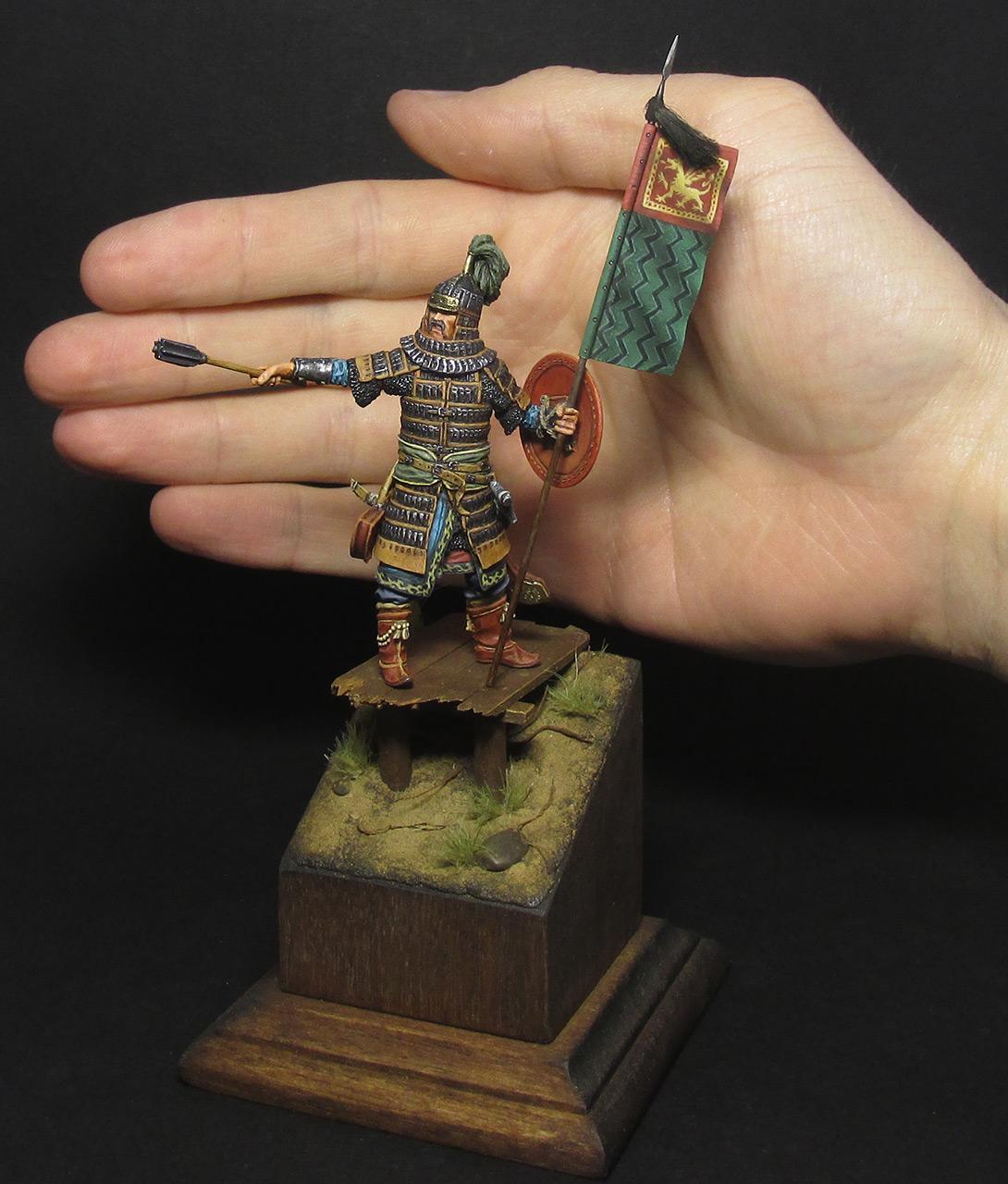 Figures: Mongol warrior, photo #12
