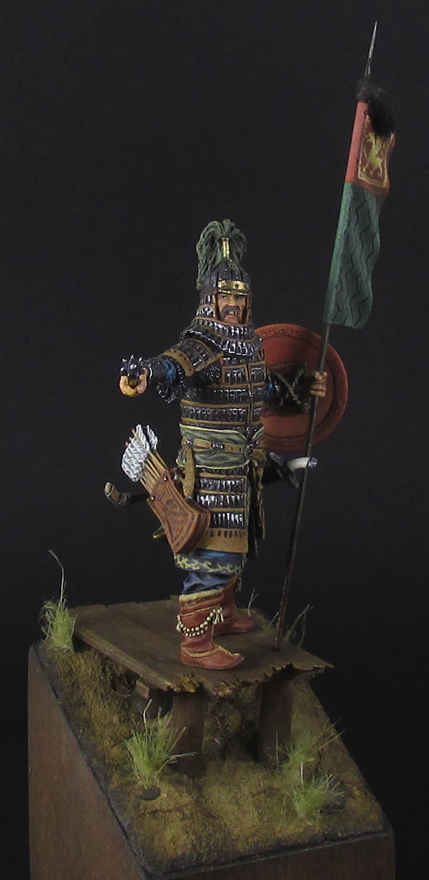 Figures: Mongol warrior, photo #2