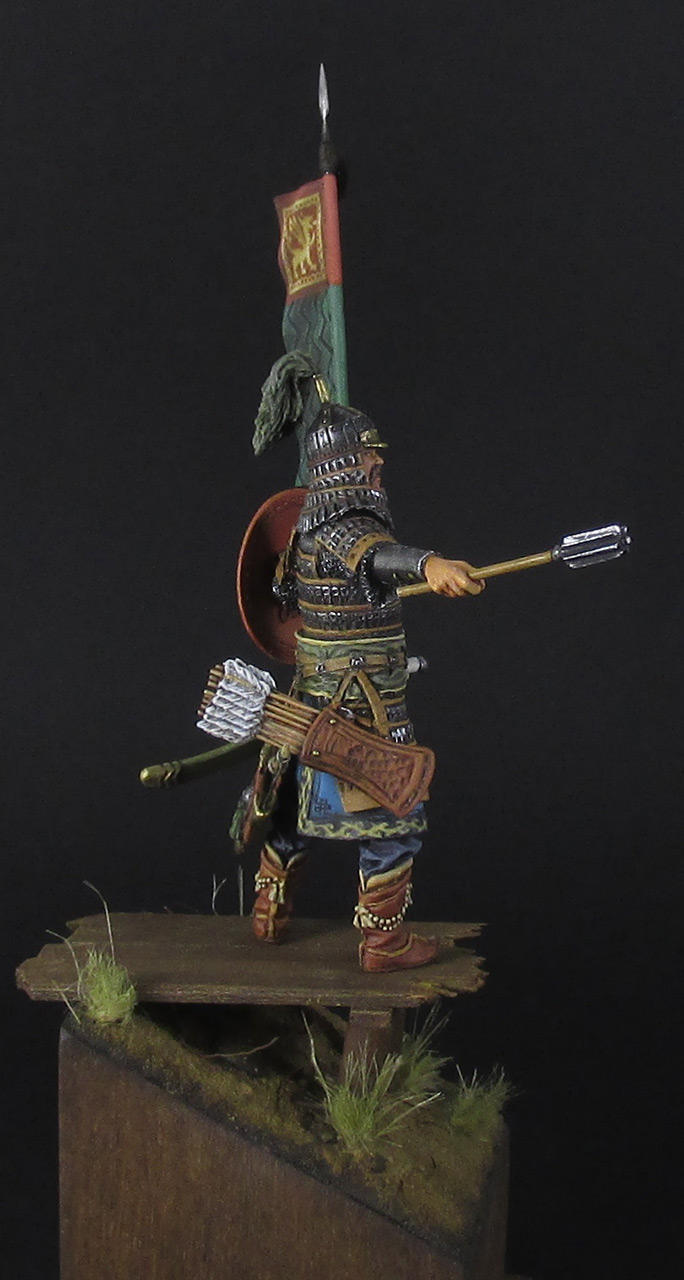 Figures: Mongol warrior, photo #4