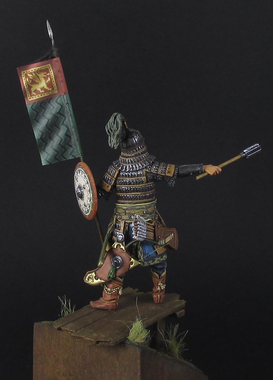 Figures: Mongol warrior, photo #6