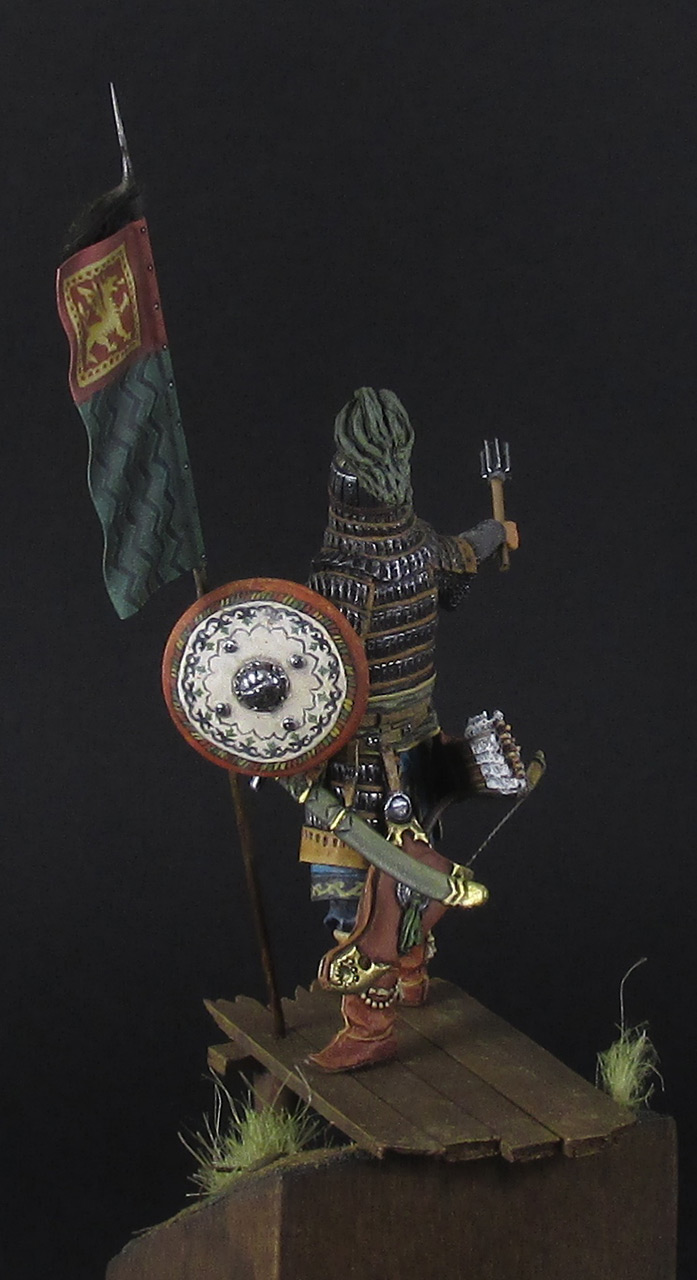 Figures: Mongol warrior, photo #8