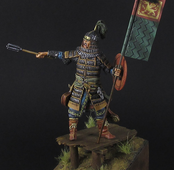 Figures: Mongol warrior